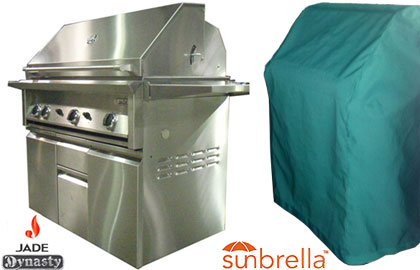 Dynasty Grill Deluxe Sunbrella covers