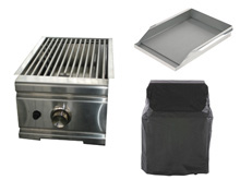 Side Burners, Grill covers, griddle plates, etc.