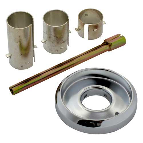Bezel adapter kit for JADE commercial range thermostats
