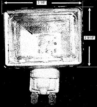Dynasty Range Oven Light Lens Assembly (DGRS models)