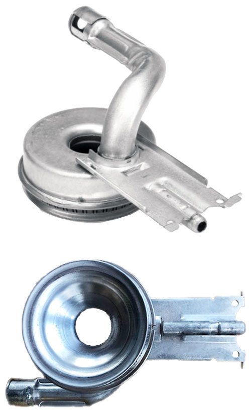 Burner, Top front burner for DGRS, DGRSC, and RJGR series (fits select DCT series models without inner flame)