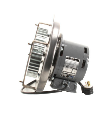 Jade commercial convection oven motor assembly with fan blade and cordset