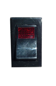 Switch, Rocker, power switch w/red light (DGRSC or RJGR) **Now In Stock